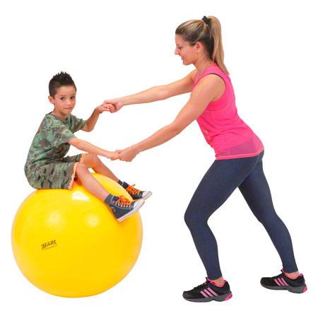 GYMNIC Gymnastikball, ř 75 cm, gelb 03478