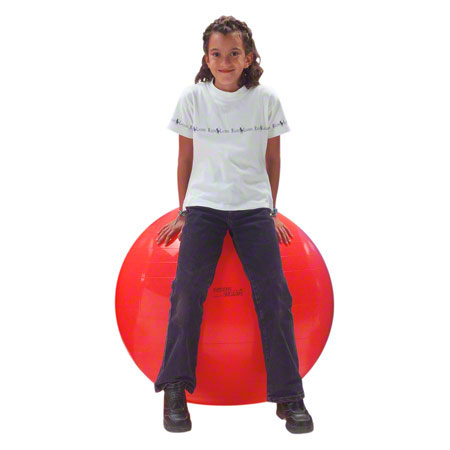 GYMNIC Gymnastikball, ř 85 cm, rot 03480