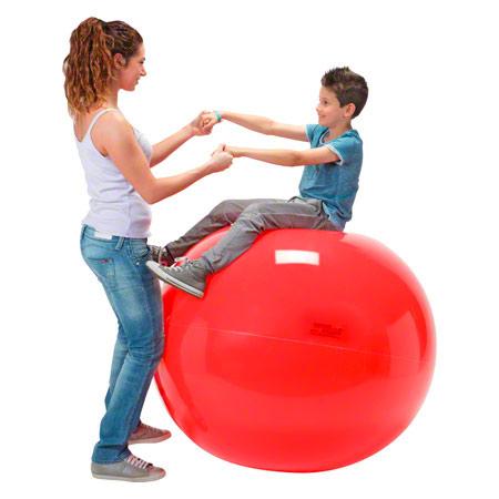 GYMNIC Gymnastikball, ř 120 cm, rot 03484
