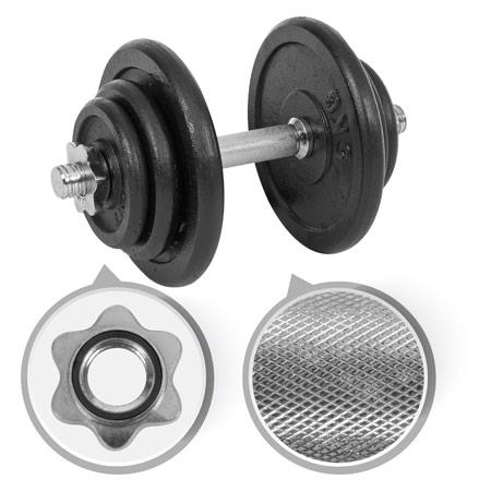 Sport-Tec Kurzhantel-Set, 20 kg, 7-tlg. 03684