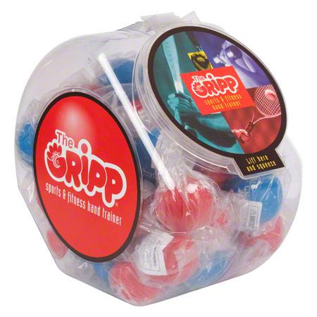 Anti-Stress Ball The Gripp II mit Gelf'llung, ' 6 cm, 40er Set
