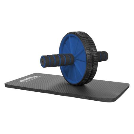 Sport-Tec Bauchtrainer Ab Wheel inkl. Kniematte 03886