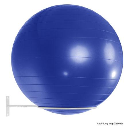 Sport-Tec Ballhalter ř 30 cm für 1 Gymnastikball bis max. 85 cm, weiß 03902