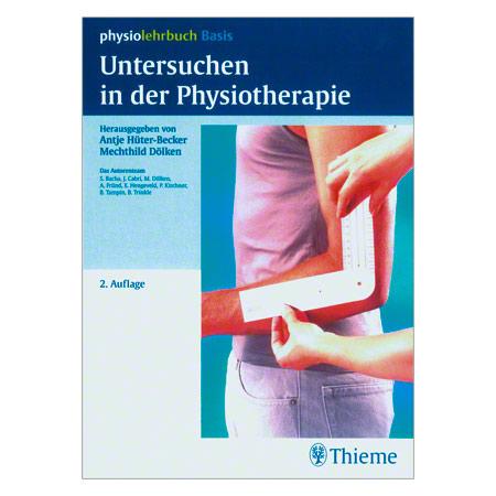 """Thieme-Verlag Buch """"Untersuchungen in der Physiotherapie"""", 200 Seiten 04032"""