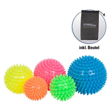 Sport-Tec Igel-Ball soft, 5er Set, inkl. Aufbewahrungsbeutel 04112