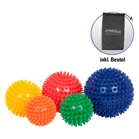 Sport-Tec Igel-Ball mittel, 5er Set, inkl. Aufbewahrungsbeutel 04122