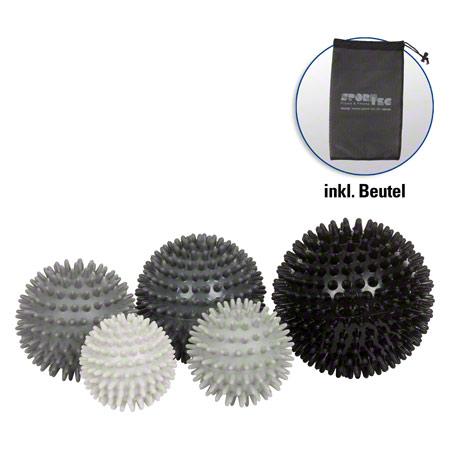 Sport-Tec Igel-Ball hart, 5er Set, inkl. Aufbewahrungsbeutel 04132