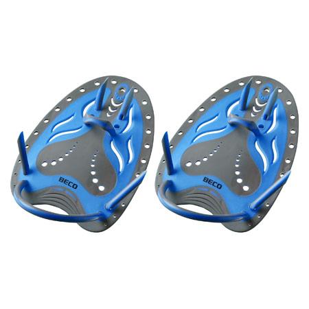 BECO Handpaddles Flex Schwimmtrainer, Gr. M, blau, Paar 04539