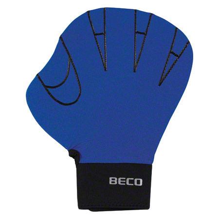 BECO Neoprenhandschuhe ohne Fingeröffnung, Gr. L, Paar, blau 04579
