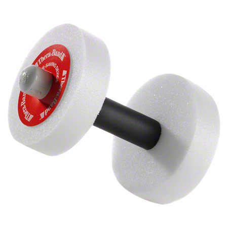 Thera-Band Wasserhanteln leicht, rot, Ř 15 cm, Paar 04590