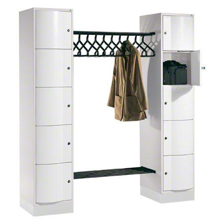 Offene garderobe f r 10 personen garderobenschrank for Garderobenschrank klein