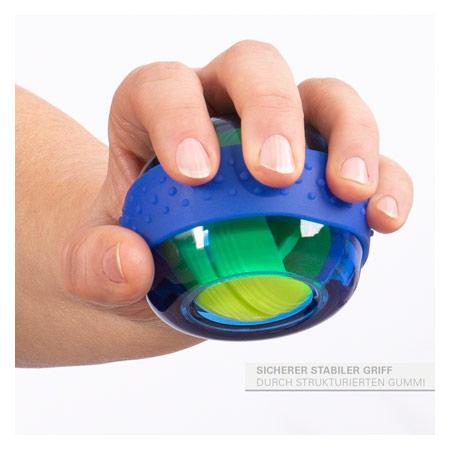 Sport-Tec Spaceball Handtrainer mit Übungsanleitung 18230