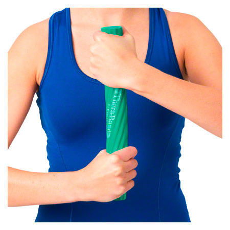 Thera-Band flexibler Übungsstab, mittel, grün 20821