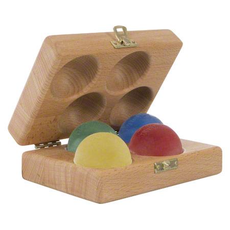 Thera-Band Handtrainer-Set, 5-tlg., 4 Stärken inkl. Holzbox 21048