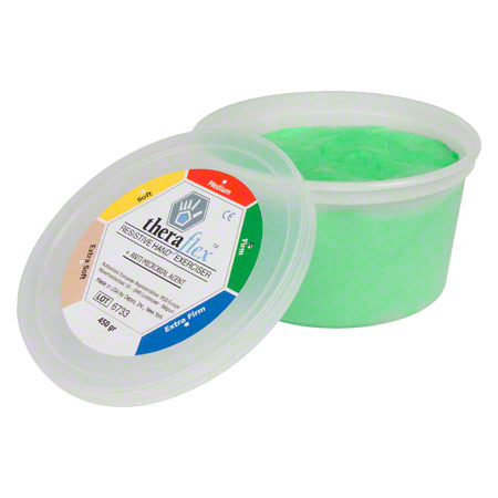 Theraflex Therapie-Knetmasse strong, 450 g, grün 21146