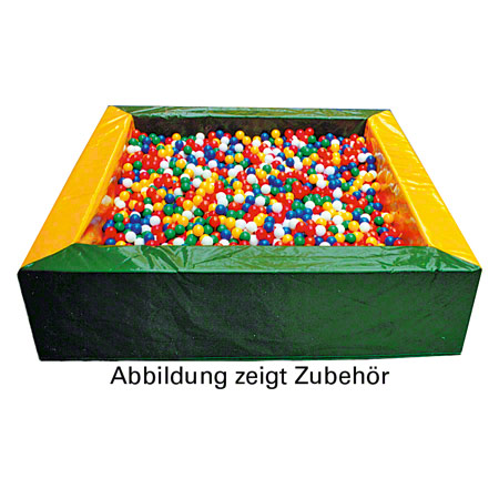 Ballpool, 150x150x50 cm, Füllmenge ca. 3000 Bälle 21400