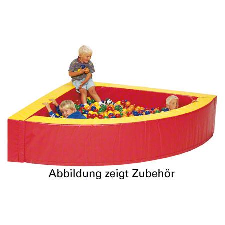 Ballpool Viertelkreis, 200x200x50 cm, Füllmenge ca. 3000 Bälle 21415