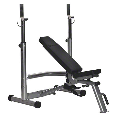 Horizon Fitness Hantelbank + Langhantelablage-Set Adonis Plus, 2-tlg. 22273