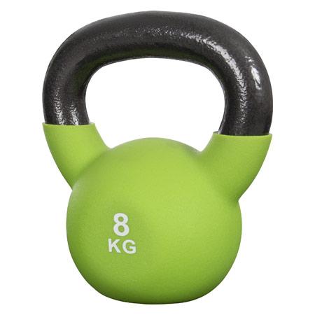 Sport-Tec Kettlebell, 8 kg, grün 22501