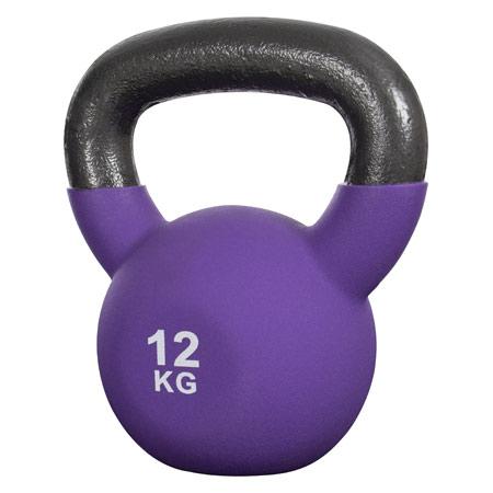 Sport-Tec Kettlebell, 12 kg, lila 22502