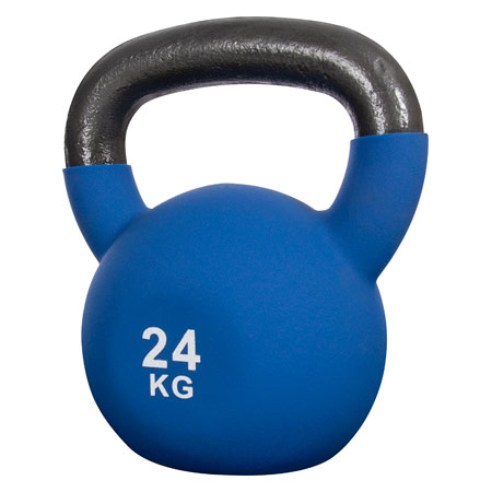 Sport-Tec Kettlebell, 24 kg, blau 22505