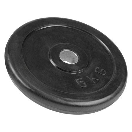 Get-Fit Hantelscheibe aus Gummi, 5 kg, Stück 22561