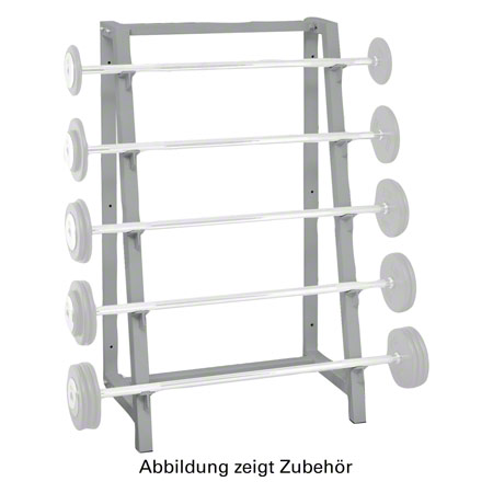 Langhantel-Ständer, 5 Ablagen 22564