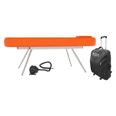 NUBIS Aufblasbare Massageliege Pro XL, LxBxH 210x75x80-105 cm 23918