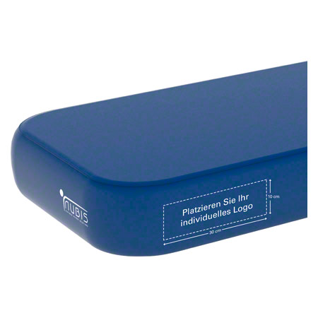 Personalisierbares Printlogo für NUBIS Massageliege, HxB ca. 10x30 cm 23930