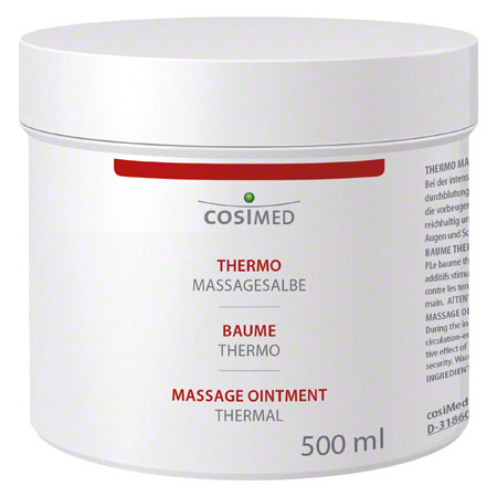 cosiMed Thermo-Massagesalbe, 500 ml 24007