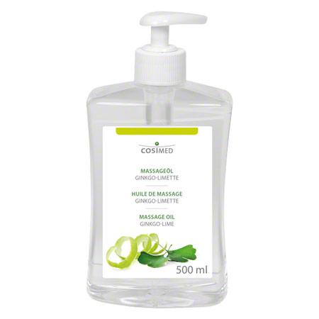 cosiMed Massageöl Ginkgo-Limette mit Druckspender, 500 ml 24102