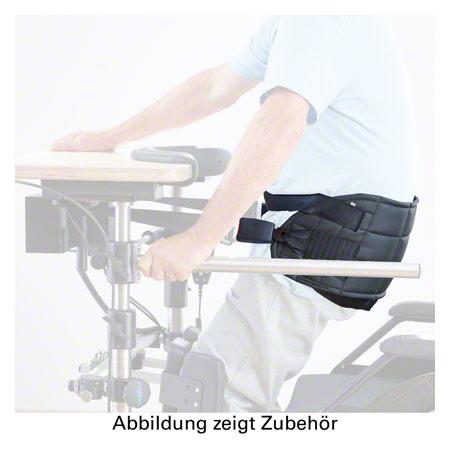 Thera-trainer Patientengurt mit Beinschlaufen und Boden für elektrisches Aufrichtsystem 24658