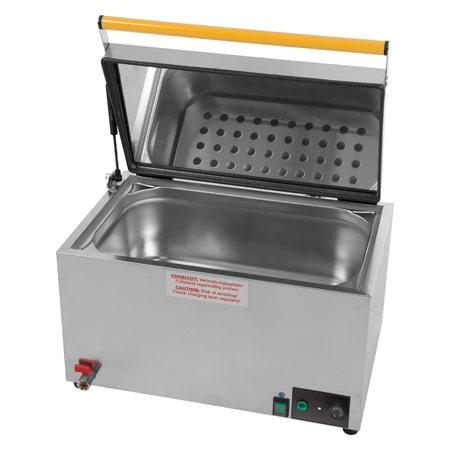 Heuser Wasserbad 4-30 für bis zu 5 Wärmeträger, thermostatisch 24820