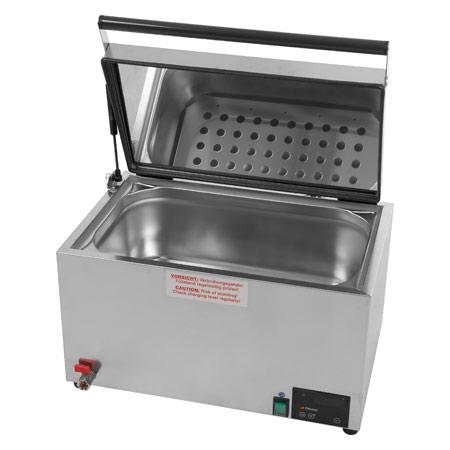 Heuser Wasserbad 5-30 für bis zu 5 Wärmeträger, elektronisch 24821