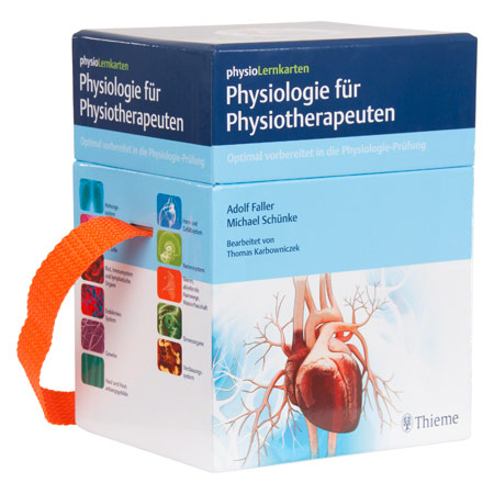 physioLernkarten - Physiologie für Physiotherapeuten, 415 Karten 25481