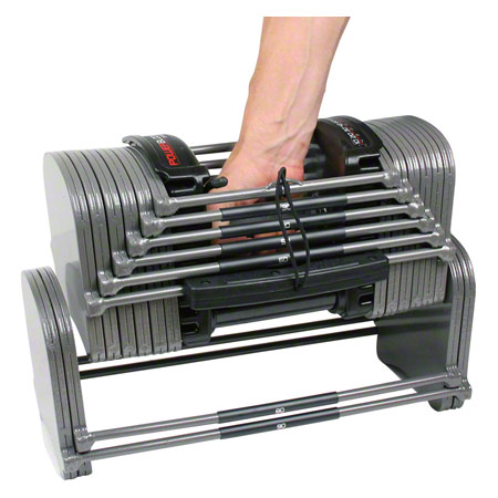 PowerBlock Power Block-Set 6 tlg., Hantel Sport EXP 2-22,5 kg Paar + Expansions-Kit Stage 2 und 3 26559