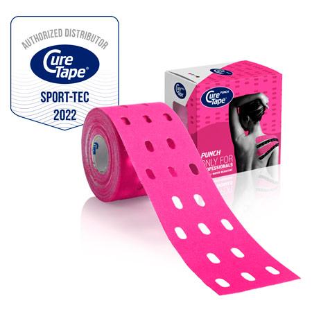 CureTape Cure Tape Punch, 5 m x 5 cm, wasserfest, pink 28631