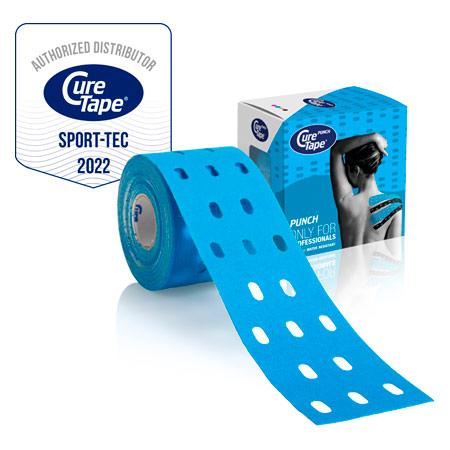 CureTape Cure Tape Punch, 5 m x 5 cm, wasserfest, blau 28632