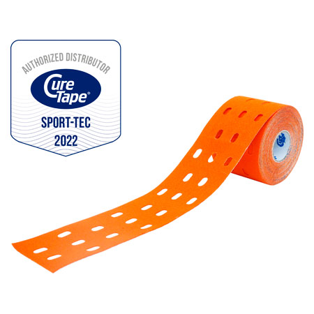 CureTape Cure Tape Punch, 5 m x 5 cm, wasserfest, orange 28634