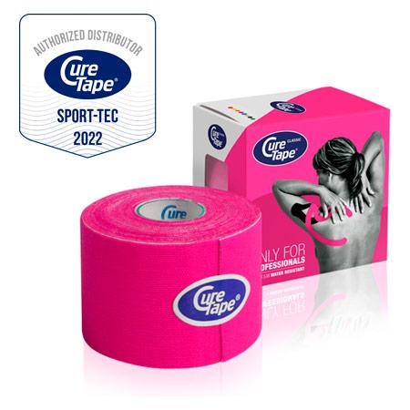 CureTape Cure Tape, 5 m x 5 cm, wasserfest, pink 28635