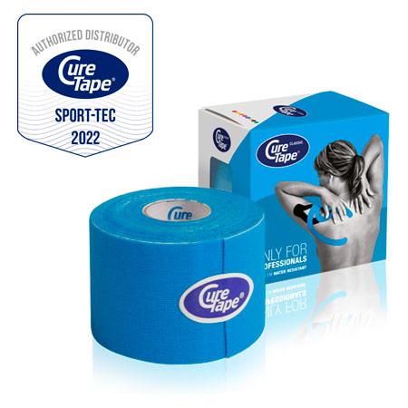 CureTape Cure Tape, 5 m x 5 cm, wasserfest, blau 28642