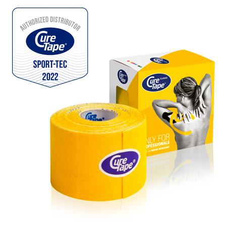 CureTape Cure Tape, 5 m x 5 cm, wasserfest, gelb 28648