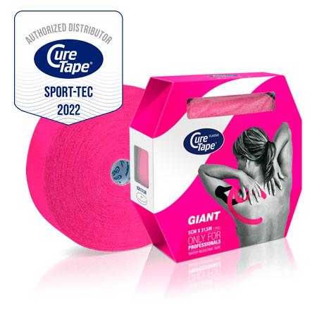CureTape Cure Tape, 31,5 m x 5 cm, wasserfest, pink 28681