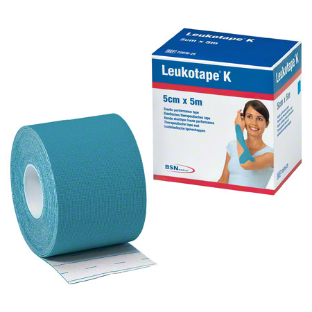 BSN Leukotape K, 5 m x 5 cm, blau 28750