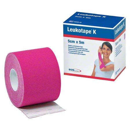 BSN Leukotape K, 5 m x 5 cm, pink 28752