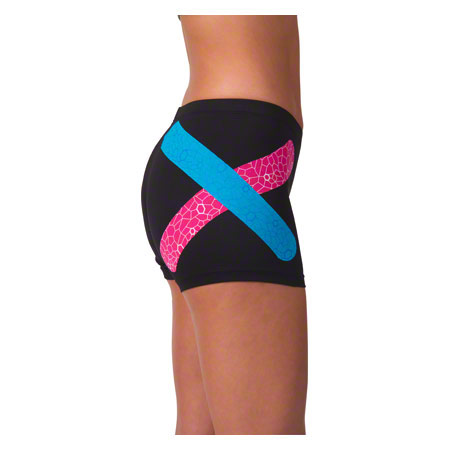 Kunden KW 2016: Thera-Band Kinesiology Tape XactStretch, 5 m x 5 cm, pink/weiß
