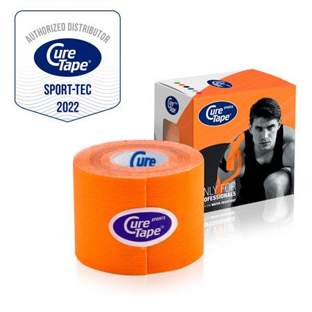 CureTape Cure Tape Sports, 5 m x 5 cm, wasserfest, orange 28840