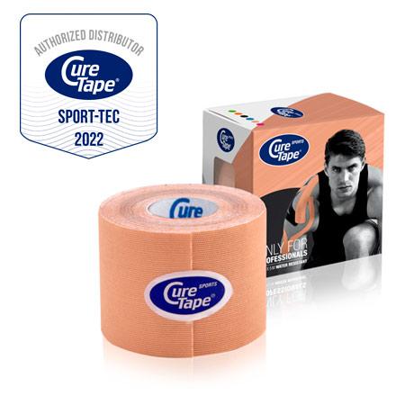 CureTape Cure Tape Sports, 5 m x 5 cm, wasserfest, beige 28844