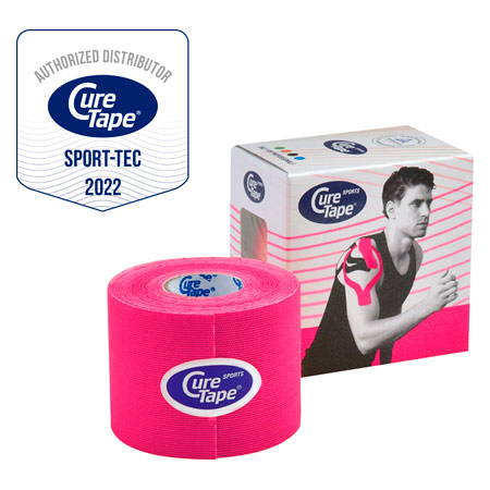 CureTape Cure Tape Sports, 5 m x 5 cm, wasserfest, pink 28845