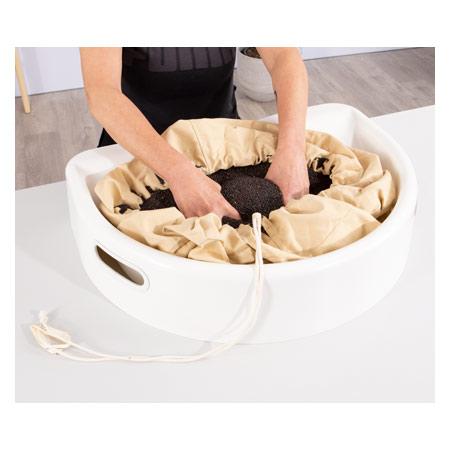 Therapieraps-Set 6 kg inkl. Wanne und Einlage 29170